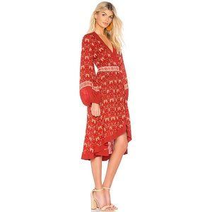 NEW Spell & The Gypsy Jewel Soirée Red Dress XL
